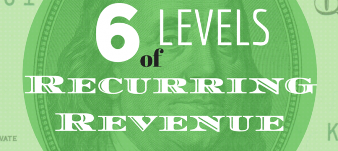 The 6 Levels of Recurring Revenue to Maximize Value